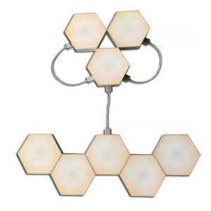 warmwhite hexagon light