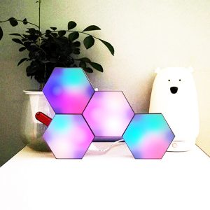 APP operated aurora hexagon lights