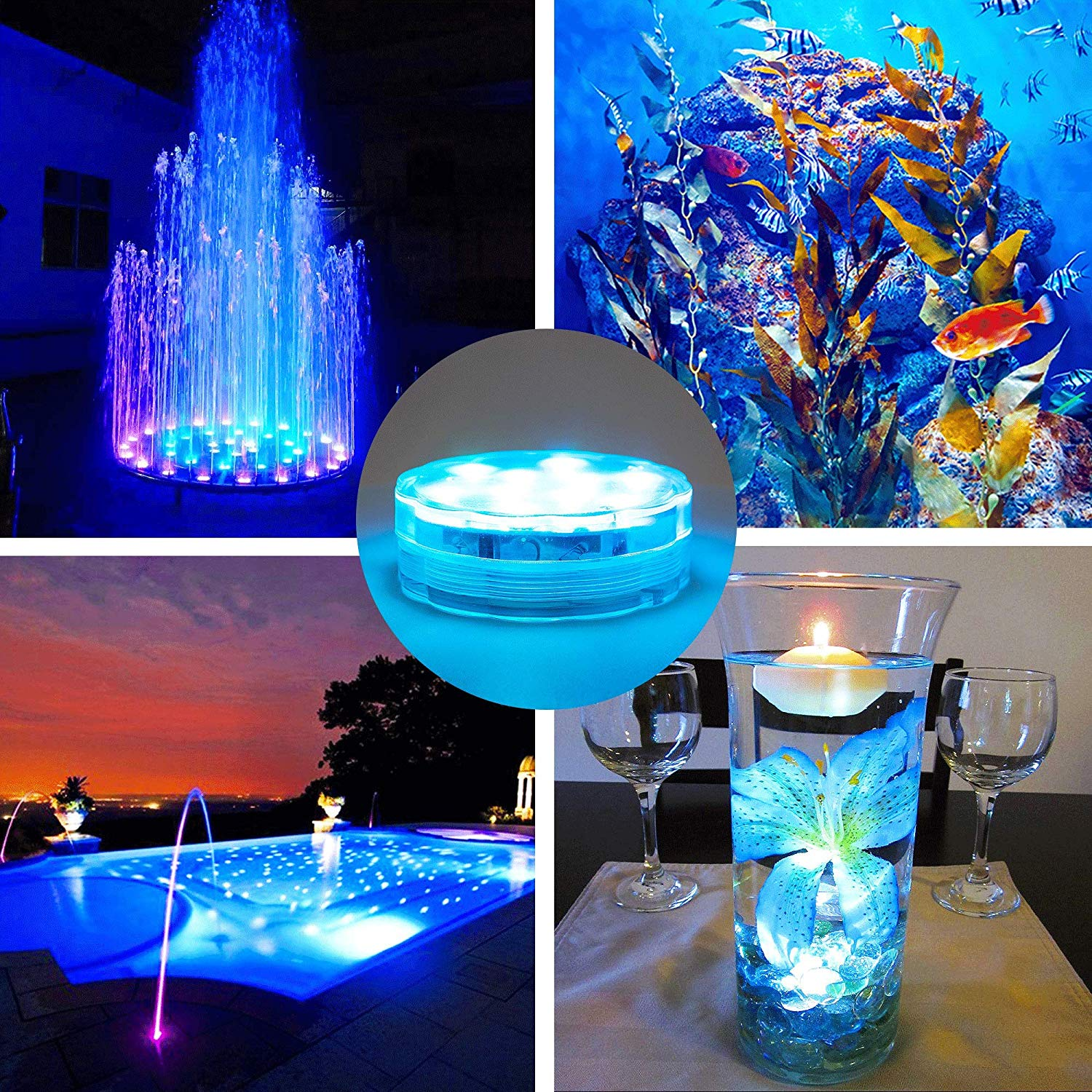 applications of remote controlled submersible led lights