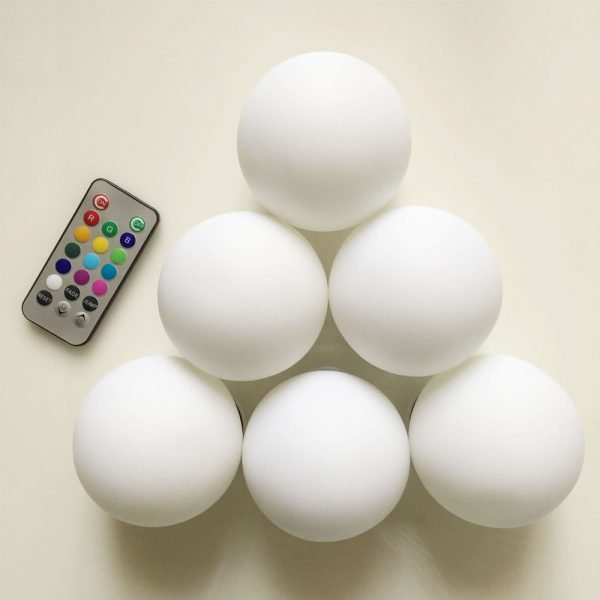 remote controlled waterproof LED ball light