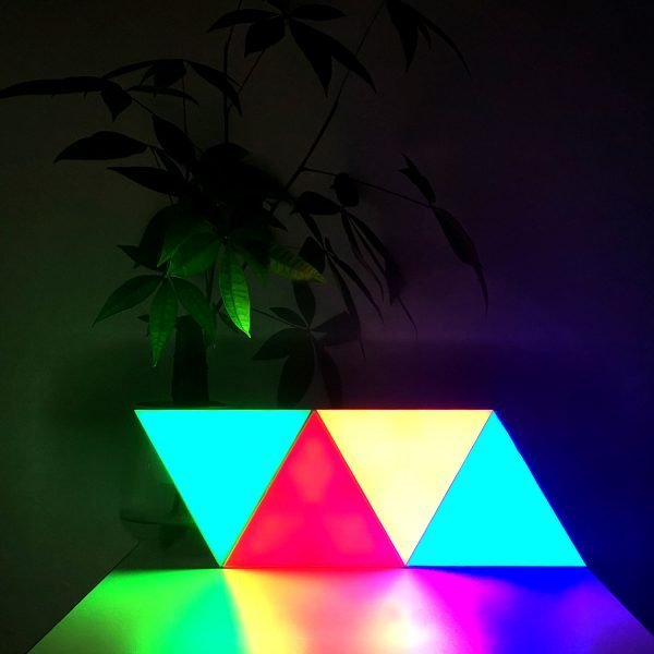 triangle touch lights