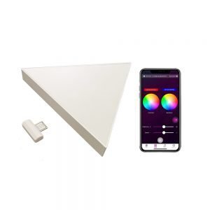 APP controlled triangle lights